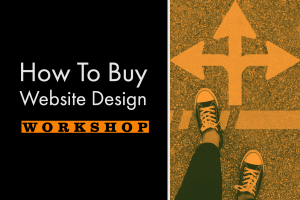 How to buy a website workshop by Robot Creative